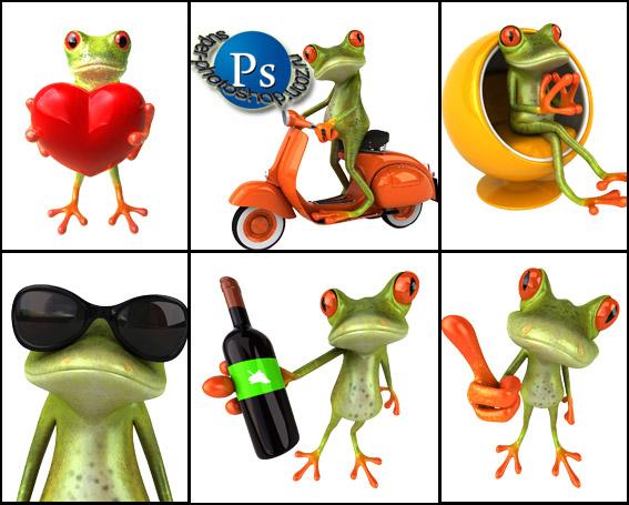 клипарт лягушка: