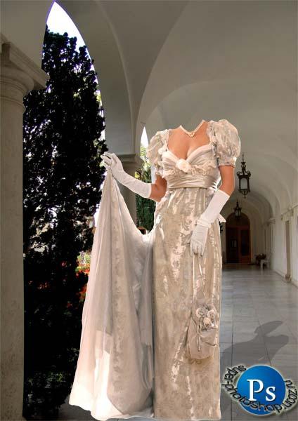 Платье без головы